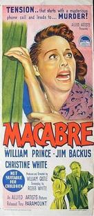 Macabre - Australian Movie Poster (xs thumbnail)