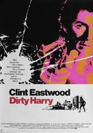 Dirty Harry - German Movie Poster (xs thumbnail)