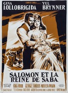 Solomon and Sheba - French Movie Poster (xs thumbnail)