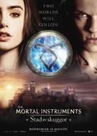 The Mortal Instruments: City of Bones - Swedish Movie Poster (xs thumbnail)