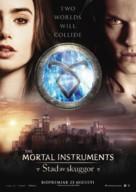 The Mortal Instruments: City of Bones - Swedish Movie Poster (xs thumbnail)