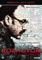 The Conversation - Czech DVD cover (xs thumbnail)