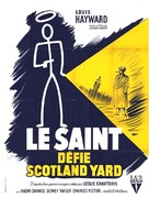The Saint's Return - French Movie Poster (xs thumbnail)