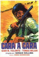 Faccia a faccia - Spanish DVD cover (xs thumbnail)