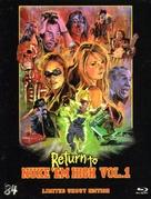 Return to Nuke 'Em High Volume 1 - German Blu-Ray cover (xs thumbnail)