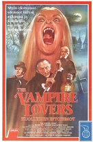The Vampire Lovers - Finnish VHS movie cover (xs thumbnail)
