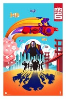 Big Hero 6 - Movie Poster (xs thumbnail)