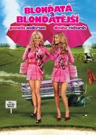 Blonde and Blonder - Czech DVD movie cover (xs thumbnail)