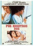 À nous deux - Spanish Movie Poster (xs thumbnail)