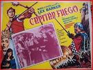 Capitan Fuoco - Mexican Movie Poster (xs thumbnail)