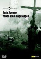 Auch Zwerge haben klein angefangen - German DVD cover (xs thumbnail)