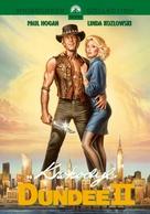 Crocodile Dundee II - Polish DVD movie cover (xs thumbnail)
