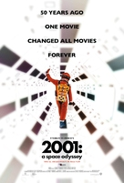 2001: A Space Odyssey - Re-release movie poster (xs thumbnail)