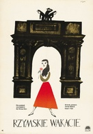 Roman Holiday - Polish Movie Poster (xs thumbnail)