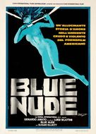 Blue Nude - Italian Movie Poster (xs thumbnail)