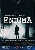 Enigma - German DVD cover (xs thumbnail)