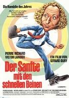 La carapate - German Movie Poster (xs thumbnail)