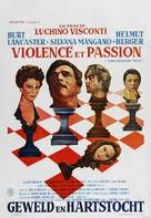 Gruppo di famiglia in un interno - Belgian Movie Poster (xs thumbnail)
