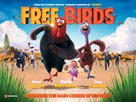 Free Birds - British Movie Poster (xs thumbnail)