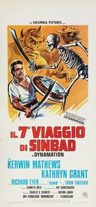 The 7th Voyage of Sinbad - Italian Movie Poster (xs thumbnail)