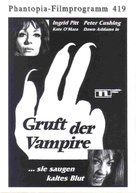 The Vampire Lovers - German poster (xs thumbnail)