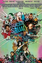 Suicide Squad - Norwegian Movie Poster (xs thumbnail)