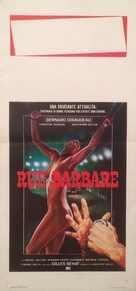 Rue barbare - Italian Movie Poster (xs thumbnail)