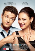 Friends with Benefits - New Zealand Movie Poster (xs thumbnail)