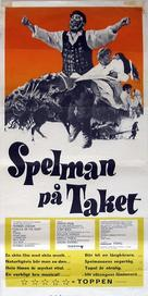 Fiddler on the Roof - Swedish Movie Poster (xs thumbnail)