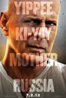 A Good Day to Die Hard - Singaporean Movie Poster (xs thumbnail)