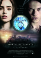 The Mortal Instruments: City of Bones - Belgian Movie Poster (xs thumbnail)