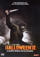 Halloween II - Argentinian Movie Cover (xs thumbnail)