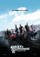 Furious 6 - Norwegian Movie Poster (xs thumbnail)