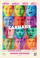 Carnage - Finnish DVD movie cover (xs thumbnail)