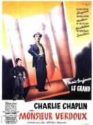 Monsieur Verdoux - French Movie Poster (xs thumbnail)