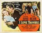 I Love Trouble - Movie Poster (xs thumbnail)