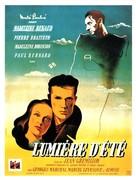 Lumière d'été - French Movie Poster (xs thumbnail)