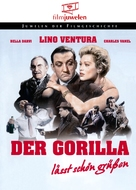 Le gorille vous salue bien - German DVD cover (xs thumbnail)