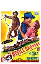Black Horse Canyon - Belgian Movie Poster (xs thumbnail)
