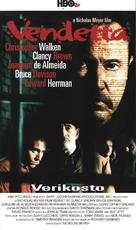 Vendetta - Finnish VHS movie cover (xs thumbnail)