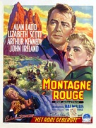 Red Mountain - Belgian Movie Poster (xs thumbnail)