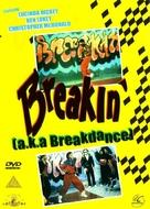 Breakin' - British DVD movie cover (xs thumbnail)
