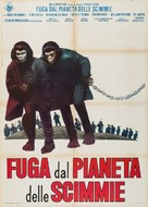 Escape from the Planet of the Apes - Italian Movie Poster (xs thumbnail)