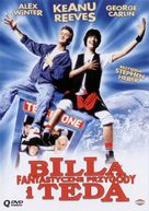 Bill & Ted's Excellent Adventure - Polish Movie Cover (xs thumbnail)