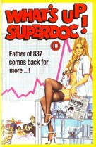 What's Up Superdoc! - British VHS cover (xs thumbnail)
