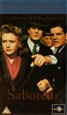 Saboteur - British VHS cover (xs thumbnail)