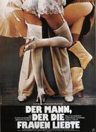 L'homme qui aimait les femmes - German Movie Poster (xs thumbnail)