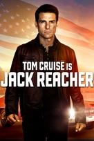 Jack Reacher - DVD movie cover (xs thumbnail)