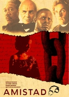 Amistad - DVD cover (xs thumbnail)