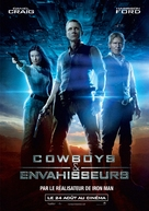 Cowboys & Aliens - French Movie Poster (xs thumbnail)